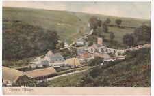 Dorset; Upwey Village PPC, 1905 Fortuneswell Portland PMK To Wallisdown