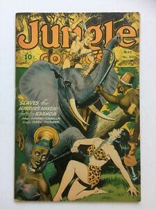 Jungle Comics #53, UNRESTORED, very nice, bondage