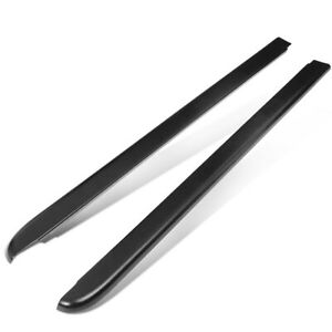 Fit 94-04 Chevy S10 6Ft Fleetside Pair Truck Bed Side Rail Molding Cap Protector