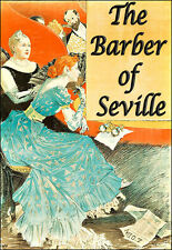Il barbiere di Siviglia Opera theatre play mostra Deco Poster stampati