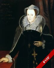 MARY QUEEN OF SCOTS PORTRAIT PAINTING SCOTLAND SCOTTISH HISTORY ART CANVAS PRINT