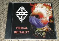 NEW Concrete Impact - Virtual Brutality CD ROCK Detroit Michigan unsigned band