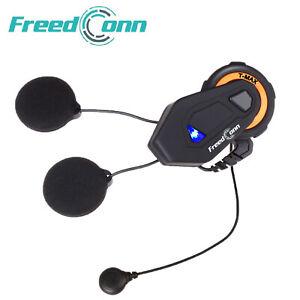 FreedConn T-MAX 1000m Motorcycle Helmet Intercom 6 Riders with Soft Mic Headset