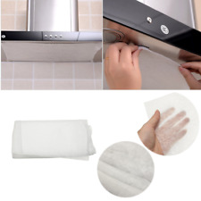 Kitchen Cooker Hood Extractor Fan Grease Paper Carbon Filter Kit UNIVERSAL 10Pcs
