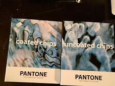 Pantone Coated And Uncoated Chips Two Color Book Set