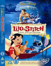 Lilo and Stitch  DVD NEW - REGION 2 - PAL