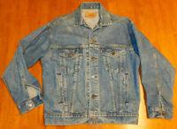 Vintage Levis Strauss Red Tab Denim Jacket 70502-0214 Made USA Size S