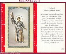 2342 SANTINO HOLY CARD S. SAINTE JEANNE D'ARC GIOVANNA D'ARCO FB F.LLI BONELLA
