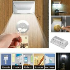 Wireless LED Light PIR IR Auto Motion Sensor Detector Door Keyhole Key Lamp New