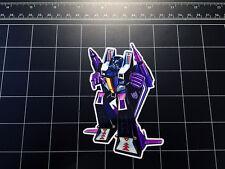 Transformers G1 Skywarp box art vinyl decal sticker Decepticon jet toy 1980's