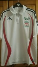 "LIVERPOOL FOOTBALL ADIDAS MEN POLO SHIRT SIZE 44"" Champions League 2006"