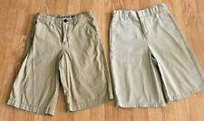 French Toast Magellan Boys Size 10 Khaki Shorts School Uniform Adjustable Waist