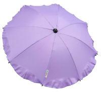 Universal Baby Umbrella Waterproof  Fit Quinny Buzz/Zapp pram/stroller Lavender