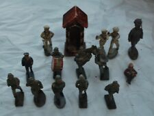 ELASTOLIN LINEOL Plus others german soldiers WWII Guard Shack Band, Kriegsmarine