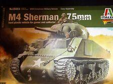 ITALERI M4 Sherman 75mm in plastica rigida del veicolo