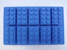 Building Brick Silicone Mould Sugarcraft Chocolate Fondant Jelly Sweet