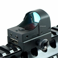 New Hunting Micro Reflex 3 MOA Red Dot Sight Rifle Scope w/Weaver/Picatinny 37