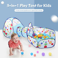 Foldable Playpen Play Tent Kids Baby Pop Up Tunnel Party Playhouse Ball Pit C239