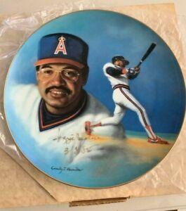 1985 Hackett American Reggie Jackson 500 Home Run Edition Plate Autograph
