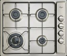 Euro Appliances 60cm Gas Cooktop with Wok Burner, Flame Failure Model ES3WGSFDS