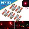 T10 2COB W5W CAR SIDE LIGHT BULBS ERROR FREE 31mm LED XENON HID For Car Lamps