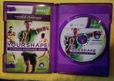 Brand New  Kinect games - Your Shape: Fitness Evolved 2012 (Xbox 360)