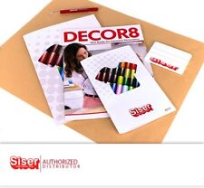 SISER ACCESORIES COMBO (COLOR GUIDE - DECOR 8 CRAFT MAGAZINE - Squeegee -WEEDER)