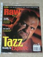 WWF MAGAZINE RAW AUGUST 2000 WRESTLING TAZZ COVER WWE