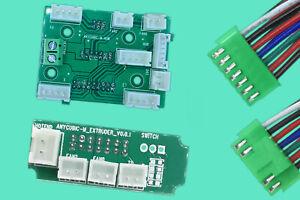Für Anycubic Mega 3D Drucker Switch Hotend Platine PCB Anschluss Kabel Grün