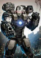 TONY STARK IRON MAN 6 SUJIN JO BATTLE LINES VARIANT WAR MACHINEAVENGERS 10/17