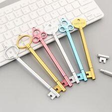 2 Pc Vintage Key Gel Pen Set, Kawaii Pens Novelty Cute Stationery School Supply