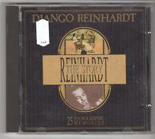 (GL656) Django Reinhardt, The Story - 1989 CD