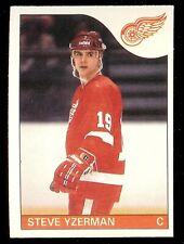 1985-86 OPC (O-Pee-Chee) #29 Steve Yzerman Detroit Red Wings