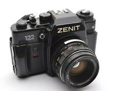 Zenit FS 122 Analog Spiegelreflex Kamera, Pentacon Auto 1,8 / 50 mm M42 Lens o26