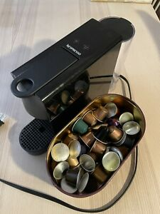 Nespresso Breville Essenza Mini Espresso Machine With Coffee Pods
