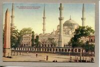 Postcard Turkey Constantinople Mosque of Sultan Ahmid Ottoman c1910 -296
