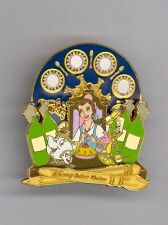 Disney Artist Choice Beauty & the Beast Belle Lumiere Be Our Guest Spinner Pin