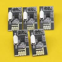 5pcs NRF24L01+ 2.4GHz Antenna Wireless Transceiver Module for Arduino New