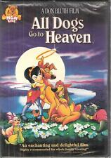 All Dogs Go To Heaven Cartoon Children Family Subtitled Fr & Span NTSC Movie DVD