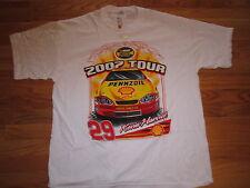 2007 Tour KEVIN HARVICK No. 29 MONTE CARLO SS (XL) T-Shirt w/ Tags