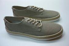 Original Penguin Men's Shoes - Drill Lace Up Canvas Fashion Vintage Khaki Size 9