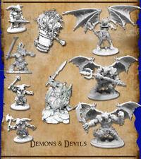 Reaper Miniatures Bones 4 Kickstarter - 9 Demons & Devils
