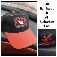 Budweiser Chase Authentics 8 Dale Earnhardt Jr Hat Cap Nascar Car Racing Adjusta