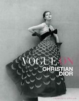 Vogue on Christian Dior, Hardcover by Sinclair, Charlotte, Brand New, Free sh...