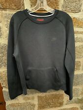 Nike Mens Sportswear Tech Fleece Sweatshirt Black Medium Crew