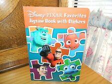 Disney Pixar FAVORITES Jigsaw PUZZLE BOOK Nemo INCREDIBLES Monsters Inc BUGS Toy