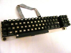 Vintage Computer - KEYBOARD - ASCII / (CHERRY TYPE KEYS), Mounted on Plex Base