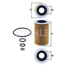 Mahle Oil Filter OX260DECO (OX 260D ECO) - Fits Mercedes Benz SLK 55 - Single