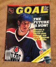 Goal NHL Magazine--Wayne Gretzky--December 1981