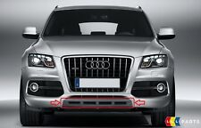 NEW GENUINE AUDI Q5 S LINE 09-12 FRONT BUMPER CENTER LOWER GREY SPOILER COVER